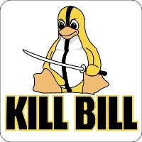 Notebook-Sticker - KillBill