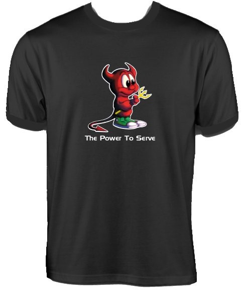 T-Shirt - FreeBSD The Power to Serve