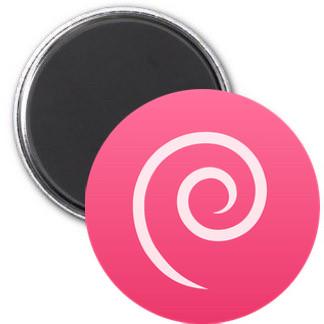 Magnet - Debian Logo einfach
