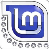 Notebook-Sticker - Linux Mint KDE