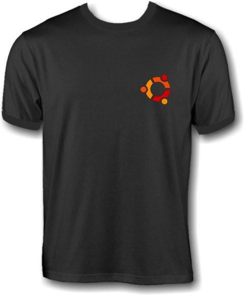T-Shirt - ubuntu Logo - Klein