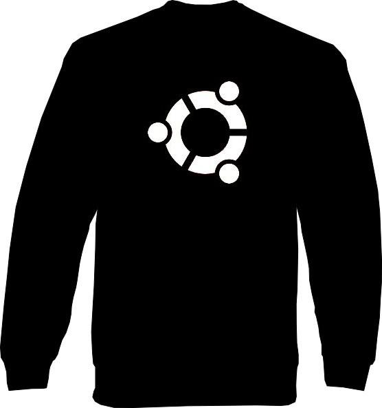 Sweat-Shirt - ubuntu Logo
