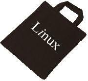 Baumwolltasche - Linux