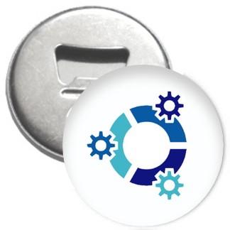 Flaschenöffner + Magnet - kubuntu