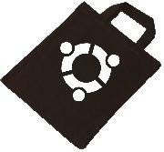 Baumwolltasche - ubuntu Logo