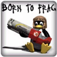 PC-Sticker - Born to Frag