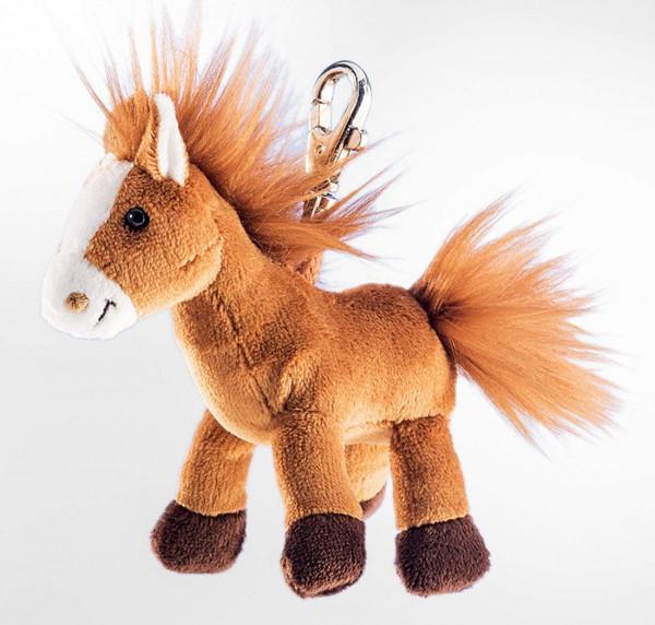 Schlüsselanhänger - Plüsch-Pferd