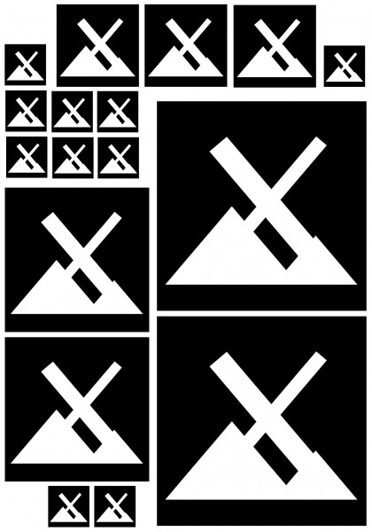 Maxi-Sticker - MX Linux A4