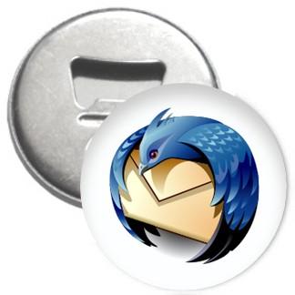 Flaschenöffner + Magnet - Thunderbird