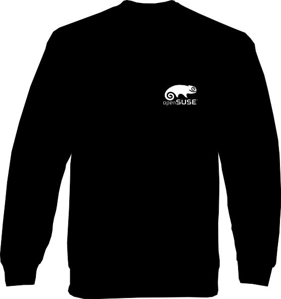 Sweat-Shirt - openSUSE - Klein