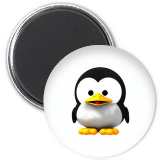 Magnet - Baby Tux