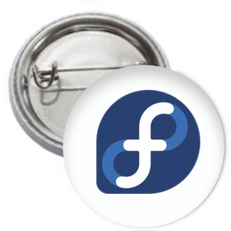 Ansteckbutton - Fedora