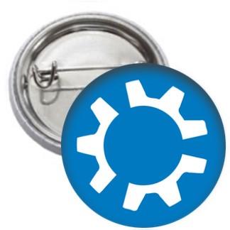 Ansteckbutton - kubuntu Logo