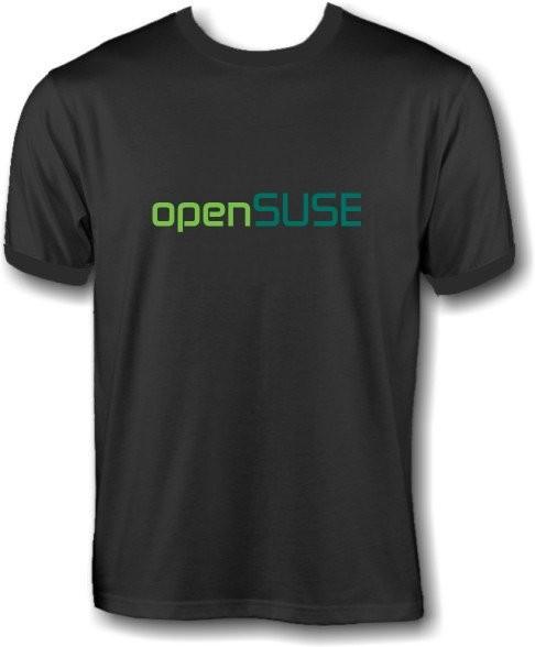 T-Shirt - openSUSE Schrift