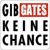 Tasten-Sticker - Gib Gates keine Chance