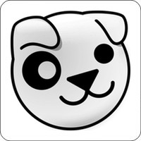 Tasten-Sticker - Puppy