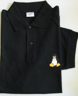 Polo-Shirt - Linux Tux