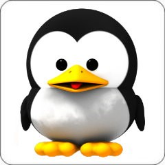 Notebook-Sticker - Baby Tux