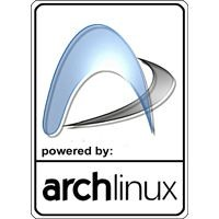 Notebook-Sticker - Arch Linux