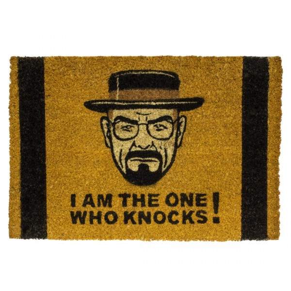 Fußmatte I Am The One Who Knocks