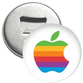 Flaschenöffner + Magnet - Apple