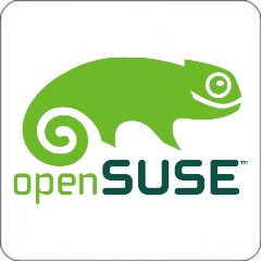 Notebook-Sticker - openSUSE