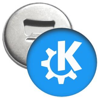 Flaschenöffner + Magnet - KDE