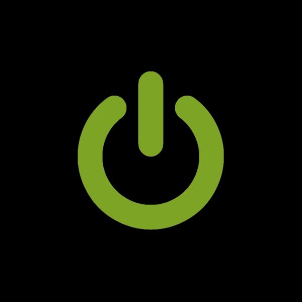 Notebook-Sticker - Power